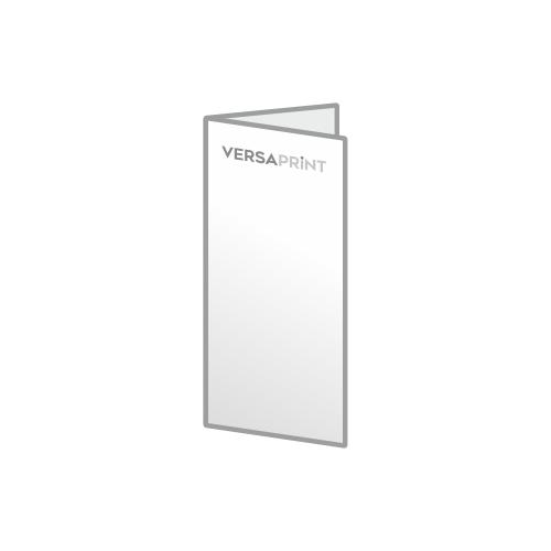 Vabilo 2x 1/3 A4 V-zgib (99x210 mm), 4-strani, odprt: 198x210 mm