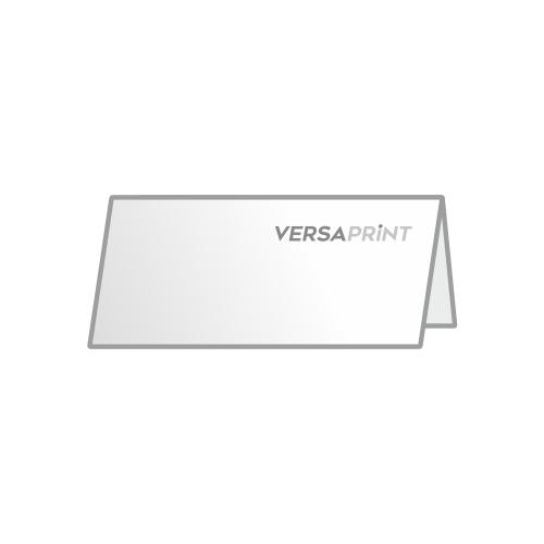 Vabilo 2x 1/3 A4 ležeče V-zgib zgoraj (210x99 mm), 4-strani, odprt: 210x198 mm