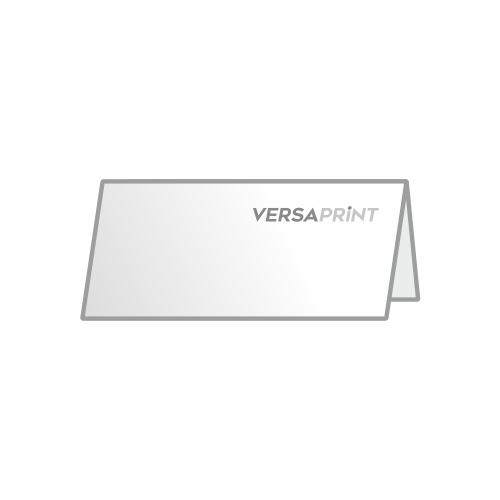 Zloženka 2x 1/3 A4 ležeči V-zgib zgoraj (210x99 mm), 4-strani, odprt: 210x198 mm
