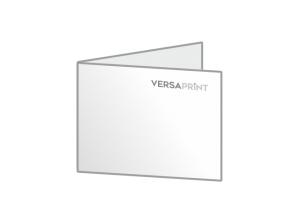 Zloženka A5 ležeči V-zgib (210x148 mm), 4-strani, odprt: 420x148 mm