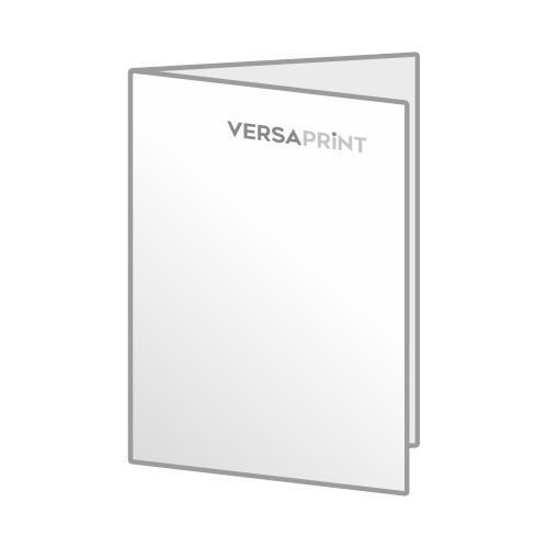Zloženka 2x A5 V-zgib (148x210 mm), 4-strani, odprt: 296x210 mm