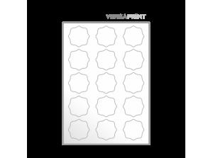 Samolepilne etikete na poli A3 - poljubna oblika in dimenzija